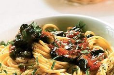 Italian Cooking, Italian Recipes, Spaghetti, Olive, Linguine, Pasta, Biscotti, Allrecipes, Family Meals