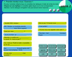 entretien téléphonique French Teaching Resources, Teaching French, French Language, Conversation, Projects To Try, School, Learning, Fle, Classroom