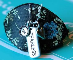 Be Fearless ... with an Inspiration Tag from Origami Owl.  #origamiowl #o2 #tag #fearless #inspiration  www.facebook.com/o2designerkimparsons www.glitzylocket.origamiowl.com