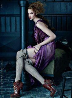Karlie Kloss by Steven Meisel -