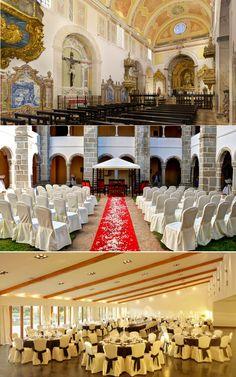 Destination Wedding: Convento do Espinheiro, em Portugal, faz casamentos para até 300 pessoas, com direito a welcome gigft e benção do padre