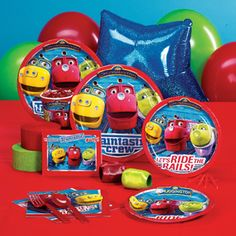 Chuggington party supplies pack
