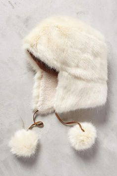 Nieve Faux-Fur Trapper - anthropologie.com