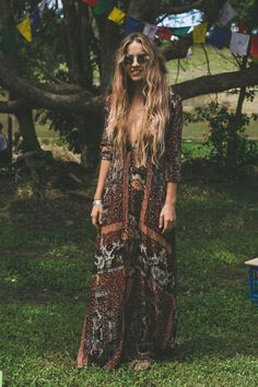 Stylish bohemian boho chic outfits style ideas 15