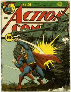 Joe Jusko and Matt Kaufenberg's recreation of Action Comics #40