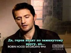 Richard Armitage's Interview about Guy and Marian on BBC America #2