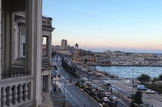 triest hotel mit meerblick Trieste, Hotels, Am Meer, San Francisco Skyline, Winter, Park, Travel, Travel In Style, Italy