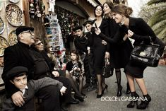 Monica Bellucci, Bianca Balti & Bianca Brandolini Are All in the Family for Dolce & Gabbanas Fall 2012 Campaign by Giampaolo Sgura