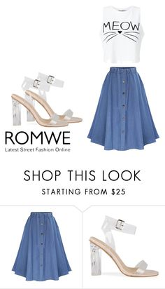 """""""romwe"""" by renata-617 ❤ liked on Polyvore featuring WithChic and Miss Selfridge"""