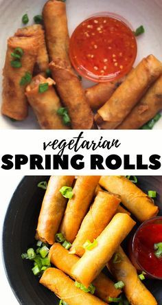 Vegetarian Spring Rolls, Tasty Vegetarian Recipes, Veg Recipes, Spicy Recipes, Appetizer Recipes, Cooking Recipes, Healthy Recipes, Vegan Vegetarian, Veg Starter Recipes