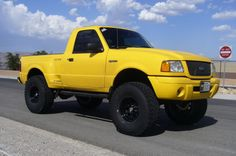 lift kit for 2003 ford ranger edge | 2003 Ford Ranger Lifted. 2003 Yellow Ford Ranger Edge