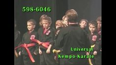 Pee Wee Power Team (SC#1) 2003 - Universal Kempo Karate Schools Association
