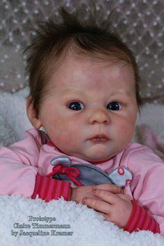 Здравствуйте еще раз :) Увидела вот такую красоту — новый молд для куклы реборн Claire от талантливого скульптора Ann Timmermann.