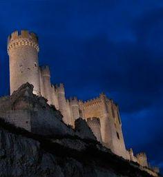 Castillo de Peñafiel, Valladolid, España.
