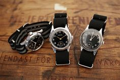 Nice Watches w/ cloth bands