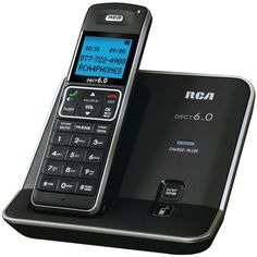 Rca Dect 6.0 Digital Cordless Phone With Caller Id (single-handset System)