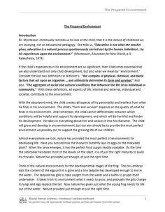 environment Montessori Theory, Teaching Aids, Classroom Management, Curriculum, Albums, Preschool, Environment, Teacher, Organization