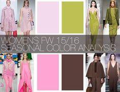 colour fashion trends fall winter 2015 / 2016 - Google Search