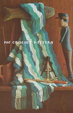 ☮ 👰🏼 ☮ Colcha em Crochê Clássica Rippy Indiana -  /  ☮ 👰🏼 ☮ Bedspread Crocheting Classic Ripple  Indiana -