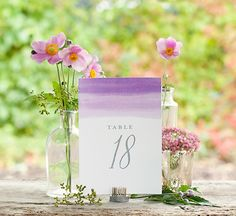 These free, printable wedding table numbers are an easy DIY wedding project for anyone. Print table number templates or already created table numbers. Diy Wedding Projects, Wedding Crafts, Diy Wedding Decorations, Table Decorations, Wedding Centerpieces, Free Wedding, Trendy Wedding, Diy And Crafts Sewing, Watercolor Wedding
