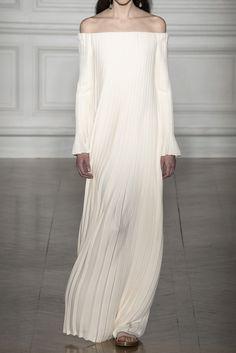 off the shoulder Valentino wedding dress