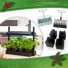 Gifts for the gardening enthusiast. Perfect to get them (or you) going with seed starting supplies.