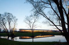 Gallery of Speed Skating Arena Geisingen / SYRA_Schoyerer Architekten - 4
