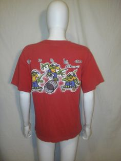 Gecko Hawaii Brand t shirt 90s vintage t by ATELIERVINTAGESHOP