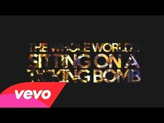 ▶ Aloe Blacc - Ticking Bomb (Official Lyric Video) - YouTube  *This song is perfection for maybe a trailer or some other exciting video!