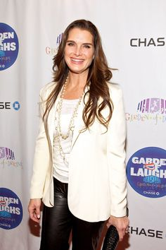 Brooke Shields dazzled in IPPOLITA at the Garden of Laughs benefit.