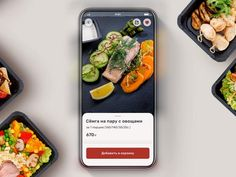 Mobile application for the company Kulinarium - the production of ready-to-eat food App Ui Design, Icon Design, Restaurant Finder, Mobile Ui Patterns, Ui Animation, Delivery App, Mobile App Ui, Mobile Design, Mobile Application