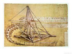 EXCAVATING MACHINE, CODEX ATLANTICUS, 1478-1518