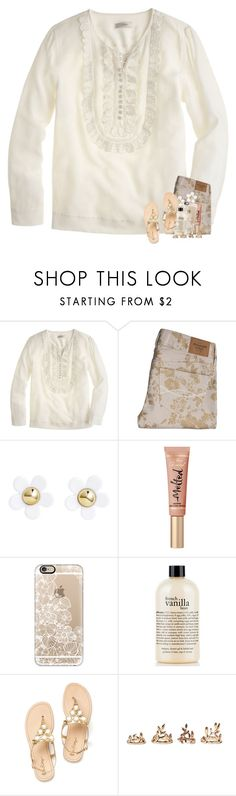"""""""love this color palette"""" by madelinelurene ❤ liked on Polyvore featuring J.Crew, Abercrombie & Fitch, H&M, Casetify, philosophy and Forever 21"""
