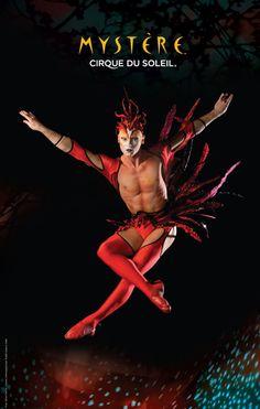 Seen Cirque de Soleil!  vielleicht seh ich Cirque de soleile irgendwann mal, ein traum