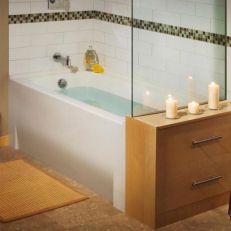 how to clean maax acrylic bathtub
