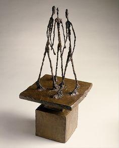 Alberto Giacometti | Three Men Walking II | The Met