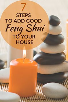 Add good Feng Shui to your house in 7 simple steps and live a better life #fengshuihome Feng Shui For Beginners, Yoga For Beginners, Fen Shui, Feng Shui Principles, Feng Shui Energy, Handyman Projects, Feng Shui House, Home Organization Hacks, Decorating Small Spaces
