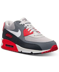Nike Men's Air Max 90 Essential Running Sneakers from Finish Line - Finish Line Athletic Shoes - Men - Macy's
