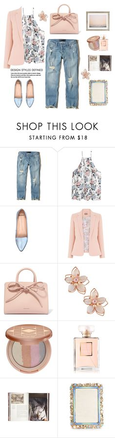 """""""Pastel style.."""" by gul07 ❤ liked on Polyvore featuring Hollister Co., Mollini, Mansur Gavriel, NAKAMOL, tarte, Chanel, Jayson Home, Jay Strongwater and Max Wanger"""