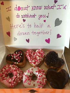 6 Month Anniversary Donut Gift Could Do The Same For A Dozen Year