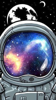 Wallpaper Viajante Espacial by Gocase Space Traveler Wallpaper by Gocase, astronaut, astronaut, plan Space Wallpaper, Planets Wallpaper, Phone Screen Wallpaper, Travel Wallpaper, Tumblr Wallpaper, Cool Wallpaper, Wallpaper Backgrounds, Iphone Wallpaper, Wallpapers Android