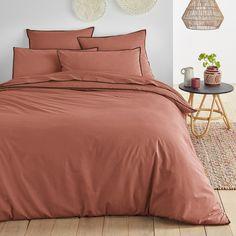 housse de couette terracotta pas chère surpiqure noire Pantone 2015, Marsala Pantone, Style Deco, Comforters, Blanket, Bed, Crib Bedding, Bedding, First Apartment