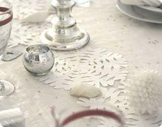 table runner .... DIY paper craft