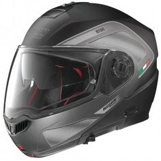 Casque Modulable Nolan N104 Absolute Tech N-Com Flat Black 27