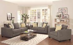Kelvington Transitional Stationary Living Room Set