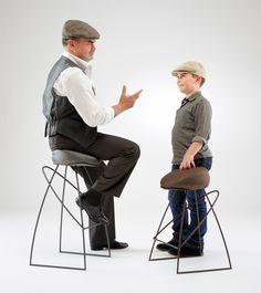 Picciotto stool by Fabio Vinella