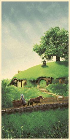 Stunning 'LOTR' Gandalf Posters By Matt Ferguson