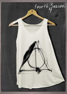 Deathly Hallows Normal Symbols Harry Potter Shirt by FourthSeason