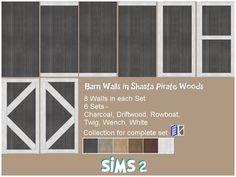Walls [Kiri] Barn Walls in Shasta;s Pirate Wood