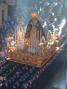 Semana Santa Malaga 2014 Spiritual Love, Holy Week, My World, Catholic, Spanish, Spirituality, Crochet, Places, Painting